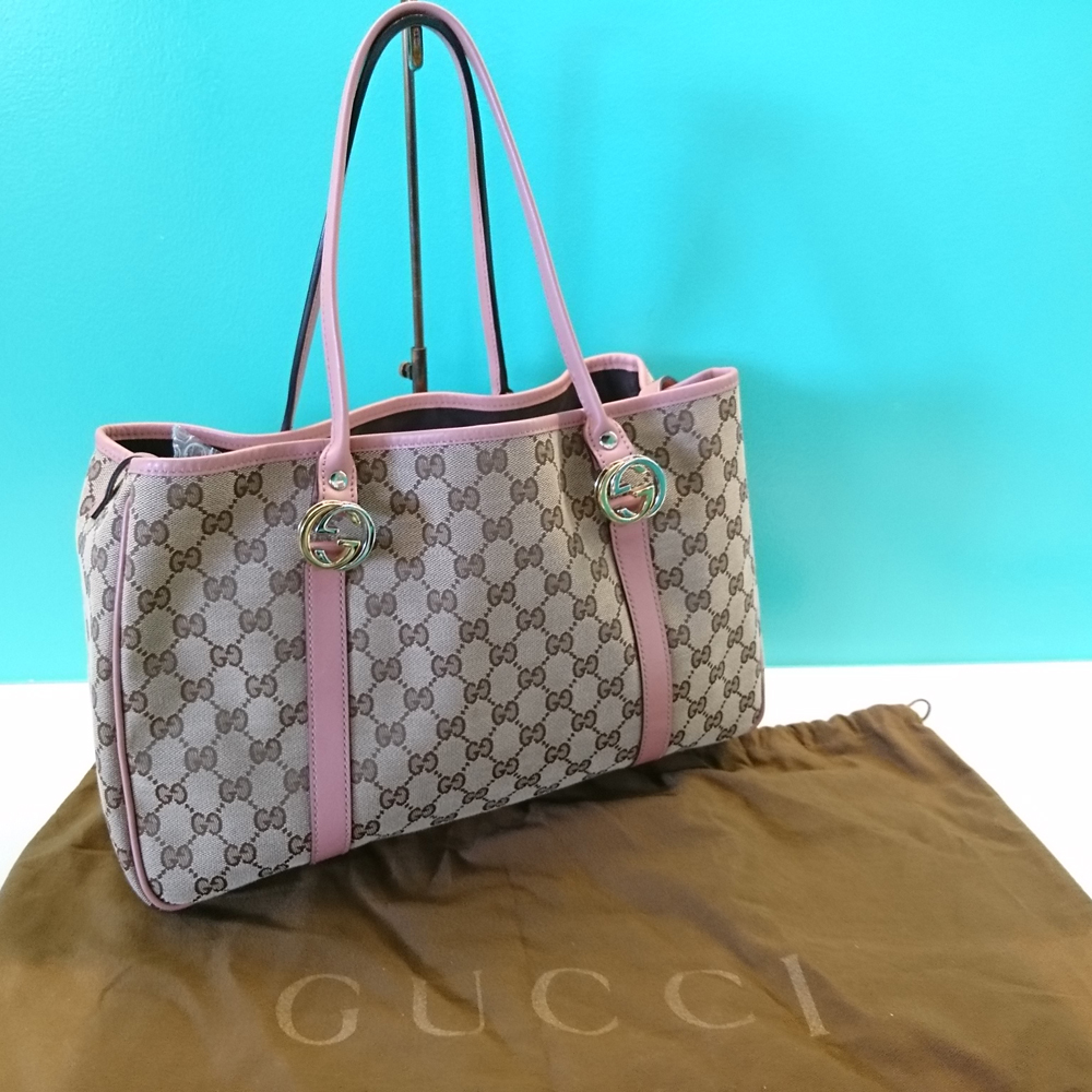 finest selection b5332 22387 Reガル - 商品詳細 - グッチ:GUCCI トートバッグ GG柄 ピンク